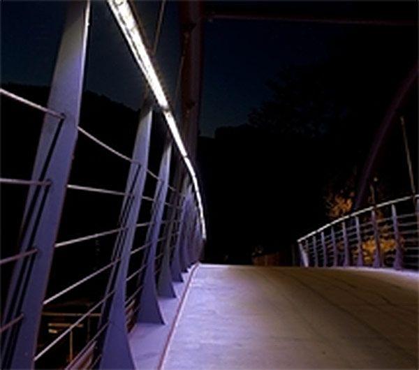 pedestrian bridge lighting - Google Search