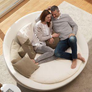 Round Sofa Contemporary Leather Fabric Round Sofa Italian Sofa Designs Family Room Furniture