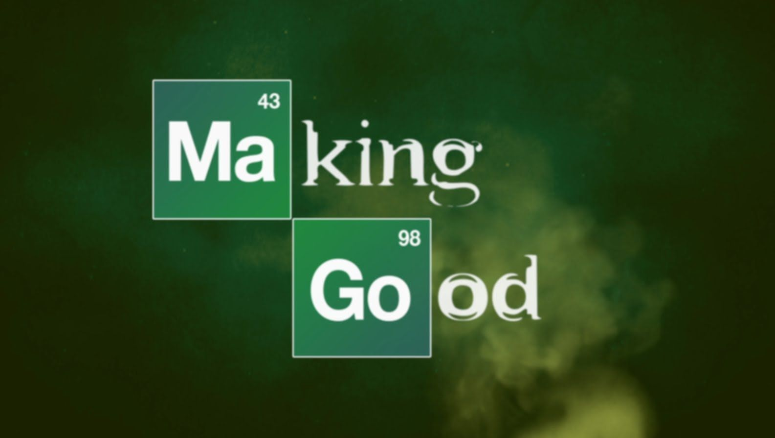 Bad design logo making good parody imagines an alternate reality for ubreaking bad