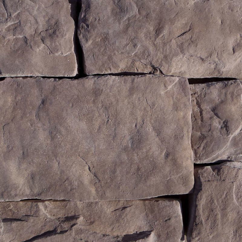 Accent Wall Real Estte: Hackett Stone - Brown Stone