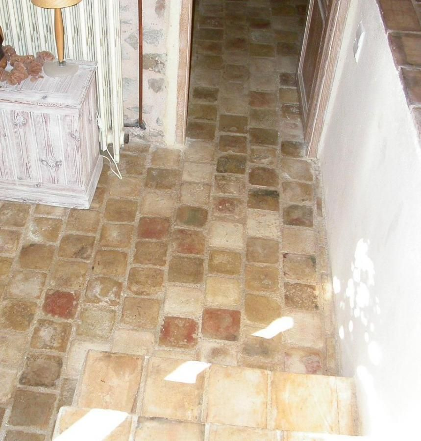 French Terracotta Tile Floor | FOR SALE : BCA REF 00889 : RECLAIMED ...
