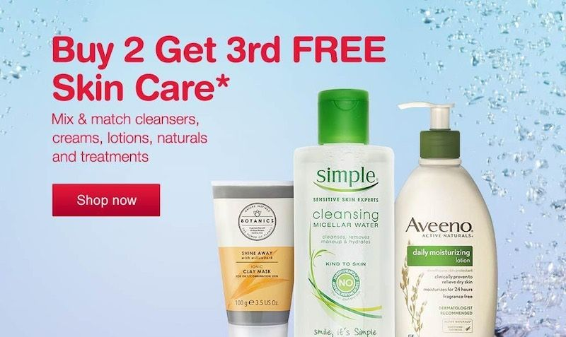 Buy 2 Get 3rd Free At Walgreens Edealo Free Skin Care Products Skin Care Daily Moisturizer