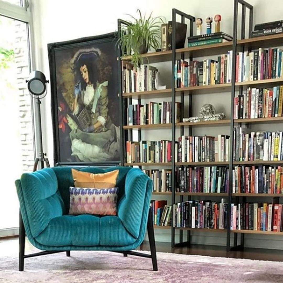 Roche Bobois On Instagram That Special Armchair Which Helps You Get Lost In A Book Profile Armcha Living Room Design Inspiration Modern Wall Modern Wall Art