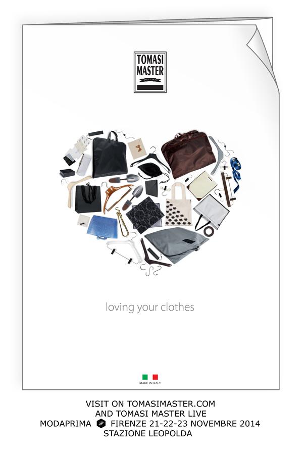 TOMASI MASTER Live at MODAPRIMA Florence 21-22-23 November 2014 Loving your clothes #new #catalogueTM
