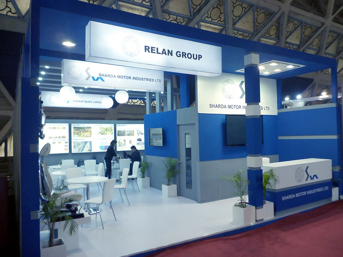 Our Project of Trade Show Booth For Sharda Motors at Auto Expo ...