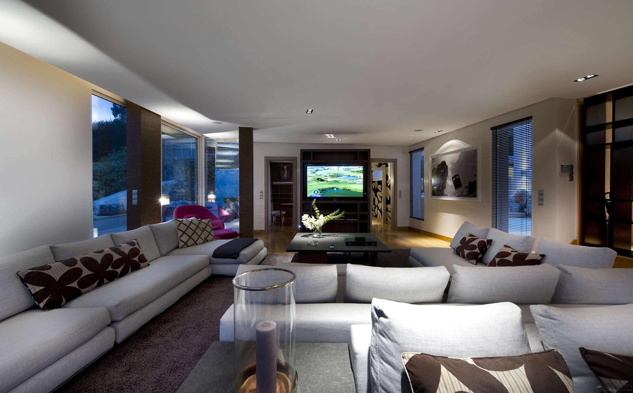 Big Living Room Designs Fair Luxury Is At Home At The Resort Villa Located In The Côte D'azur Design Decoration