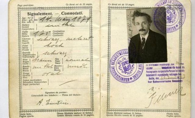Here's 27 Awesome Vintage Passports Of Famous People. - ViralVertex