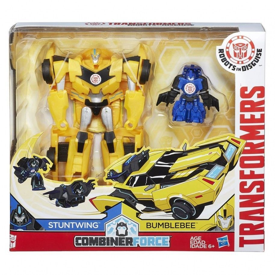 Transformers RID Combiner Force Activator Combiners Soundwave and Laserbeak