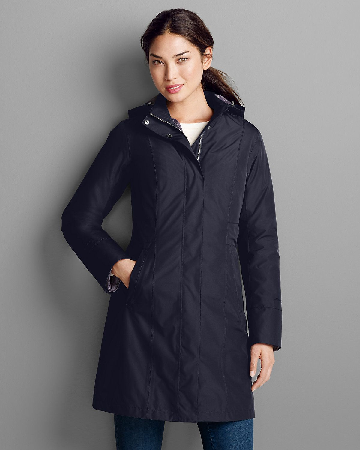 Women's Girl On The Go® Insulated Trench Coat   Eddie Bauer   My ...