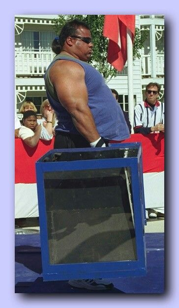 Harold Iron Bear Collins Lumbee Former Professional Strongman Uspf National Powerlifter World Champions Strongman Exercise Benches Native North Americans