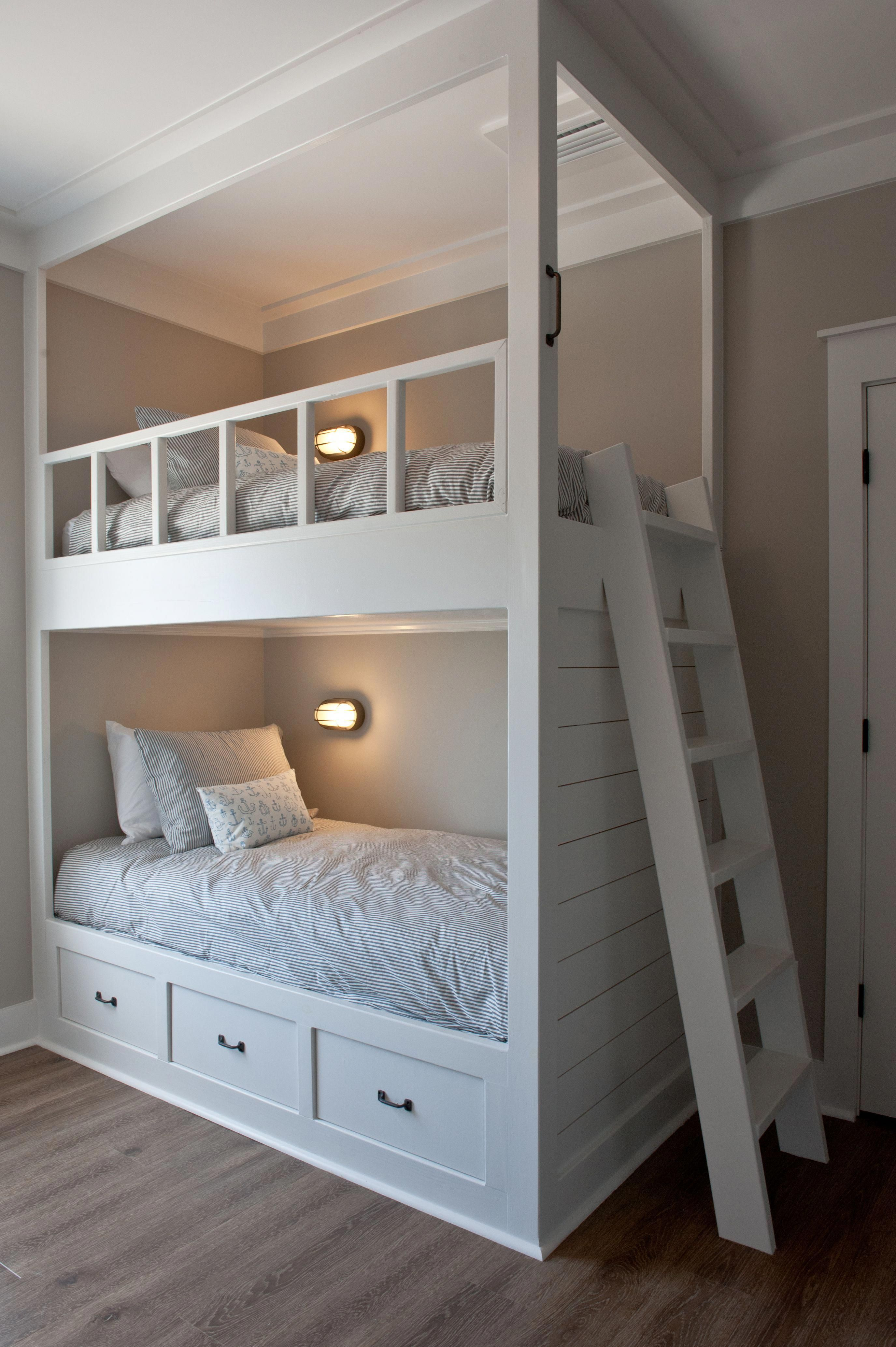 """Outstanding """"bunk bed with stairs and slide"""" detail is ..."""
