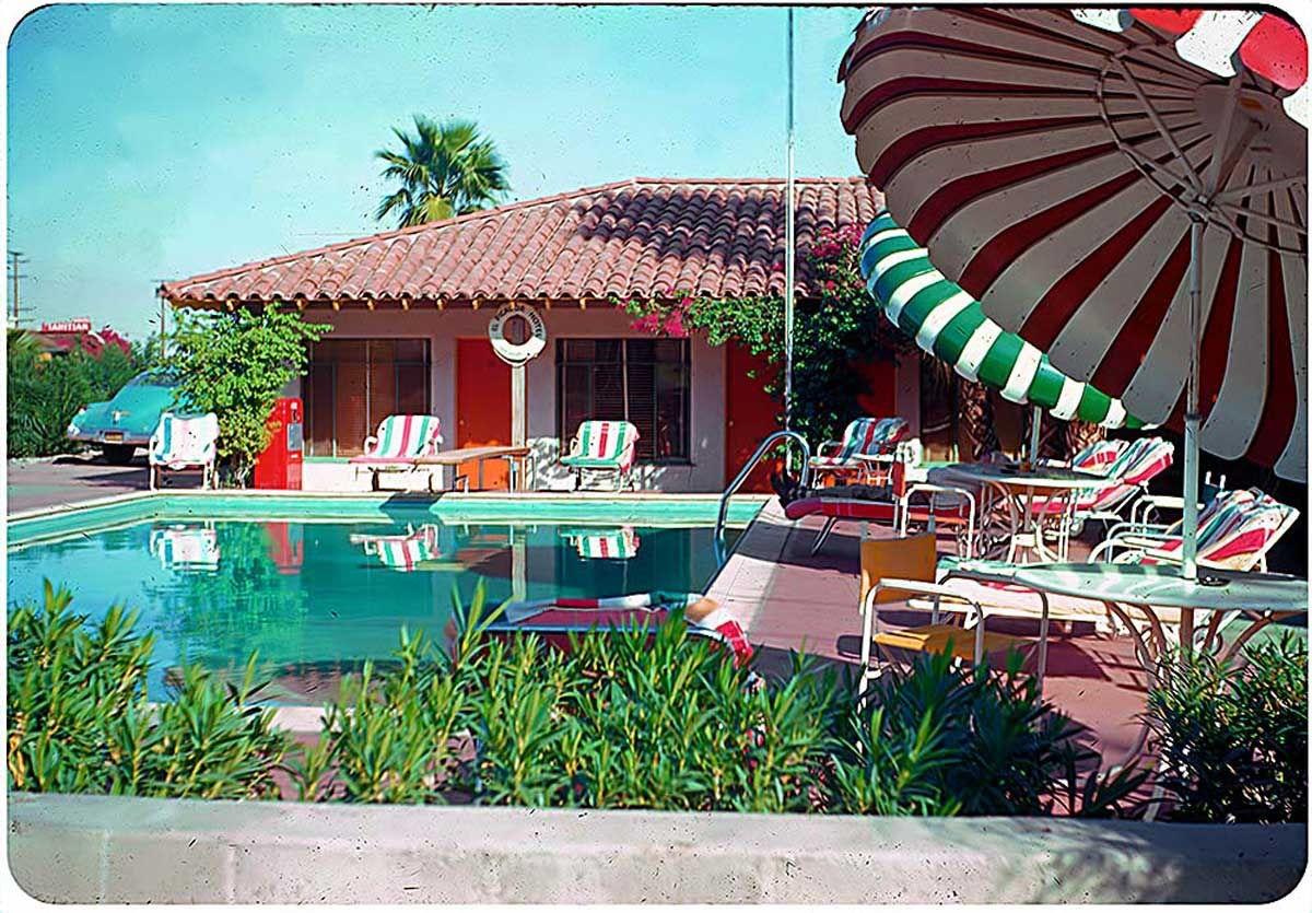 The El Picador Hotel Palm Springs California 1954