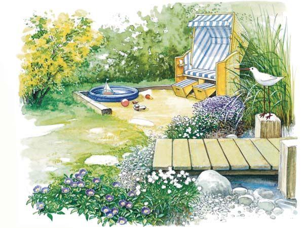 Ideen für Lieblingsplätze Pinterest - Romantisch, Ontwerp en Tuin - reihenhausgarten vorher nachher