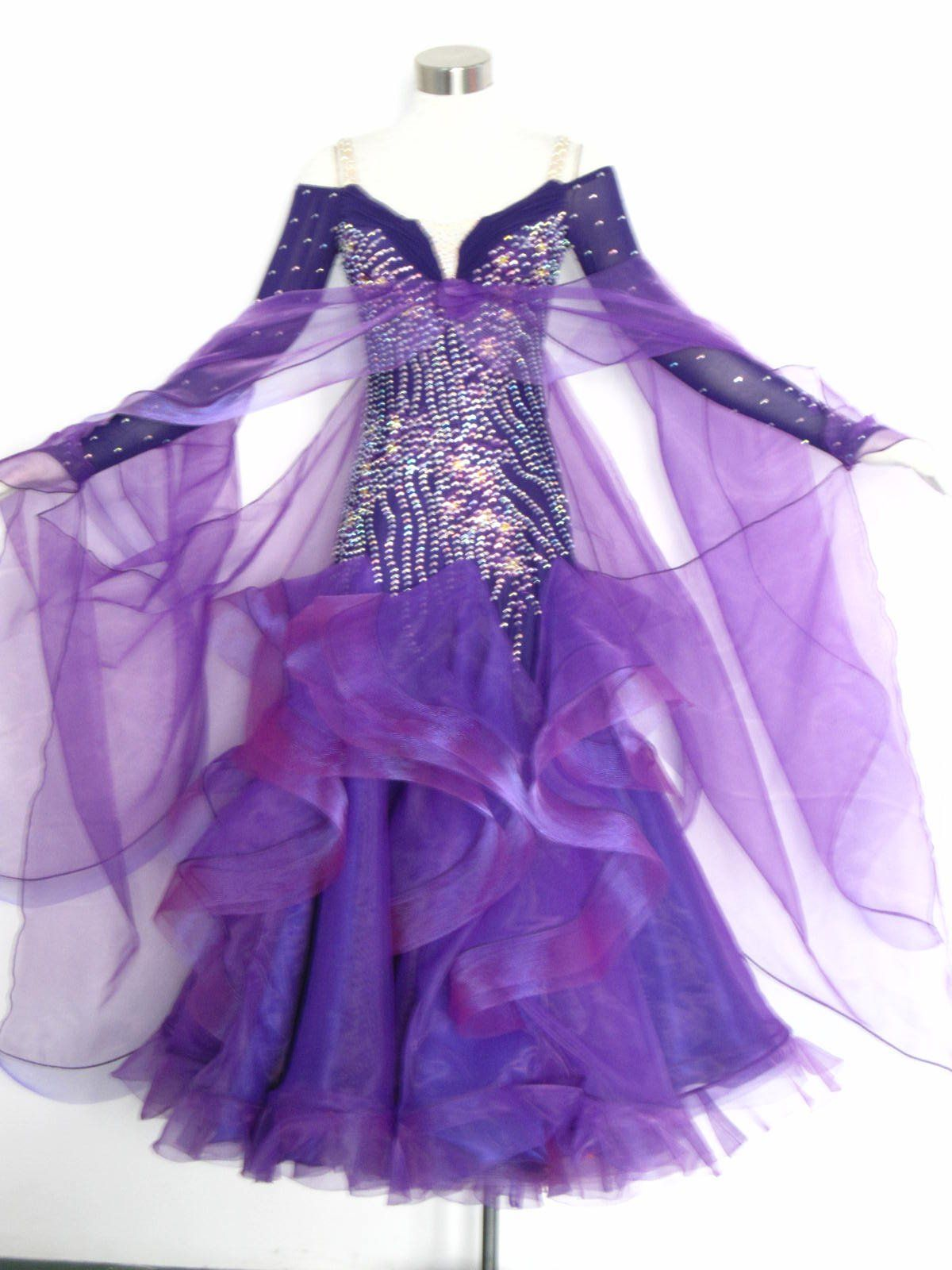 e9371736b5fd SD099 Newest Purple Ballroom Dance Dress from Reliable Ballroom Dance Dress  suppliers on NANCY LEE s store