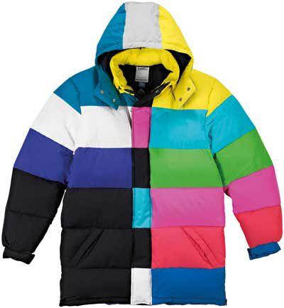 Adidas JEREMY SCOTT TV DOWN PARKA JACKET COAT Size Medium on