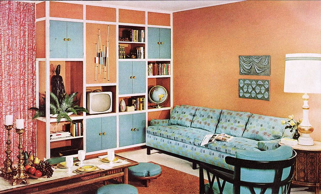 Charming Kitschy Living Room