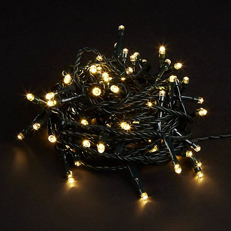 Buy John Lewis LED Indoor/Outdoor Christmas Lights with Timer, Warm