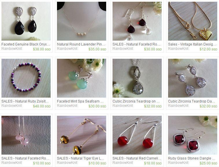 Fine Jewelry and knit wear from RainbowKnit at : https://www.etsy.com/sg-en/shop/RainbowKnit