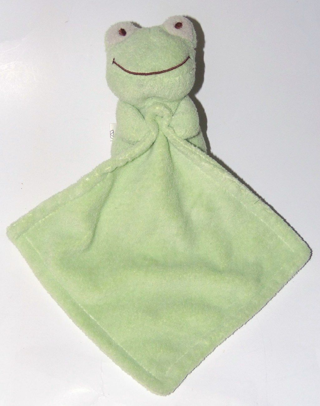 Blankets And Beyond Green Frog Blanket Plush Stuffed Animal Baby Toy