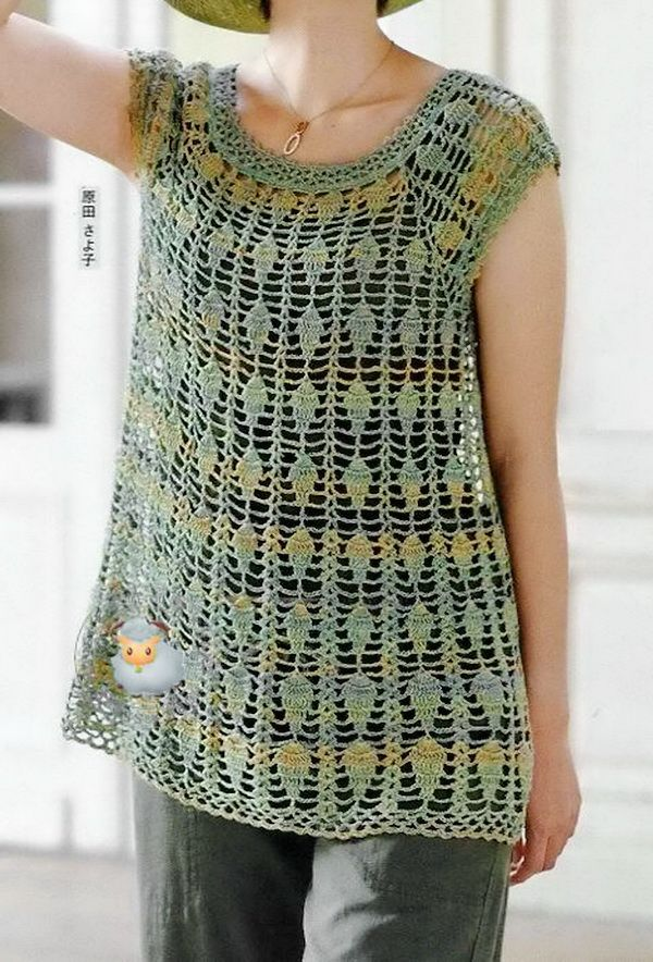 Crochet Sweater: Crochet Tunic Pattern - Gorgeous Lace | crochet ...
