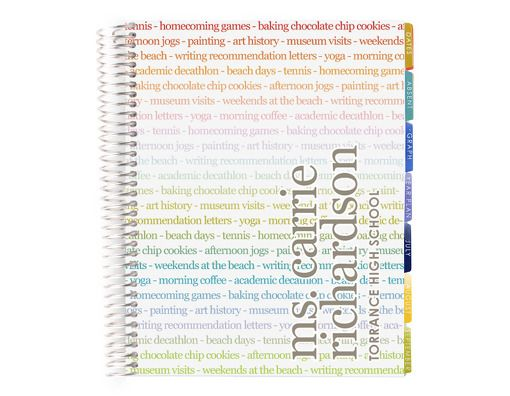Teacher personalized calender planner and gradebook school teacher personalized calender planner and gradebook negle Images