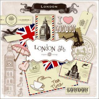 Papeterie Illustrations Londres Freebies Travel Kit London