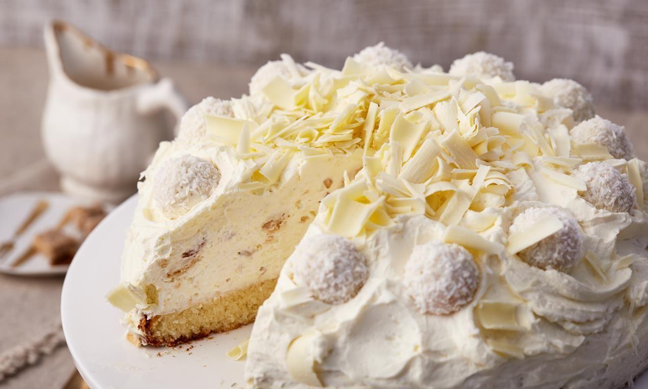 Raffaello Torte Rezept Torte Und Kuchen Raffaello Torte