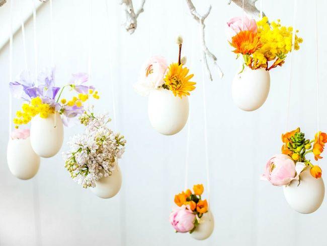 So schön österlich! #blumen #flower #ostern #twbm #dekoration