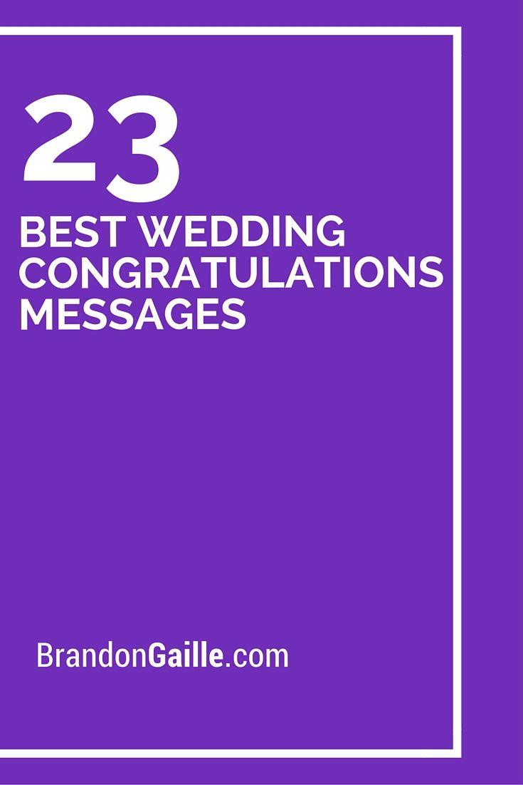 25 best wedding congratulations messages messages cards and 23 best wedding congratulations messages kristyandbryce Choice Image