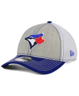 07352bd4dad5 New Era Toronto Blue Jays Heathered Neo 39THIRTY Cap - Gray ...