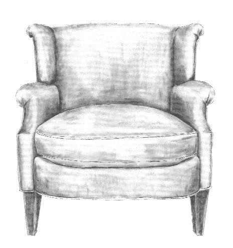 Chair Sketch chair sketch | betty jean collection : : bespoke | pinterest