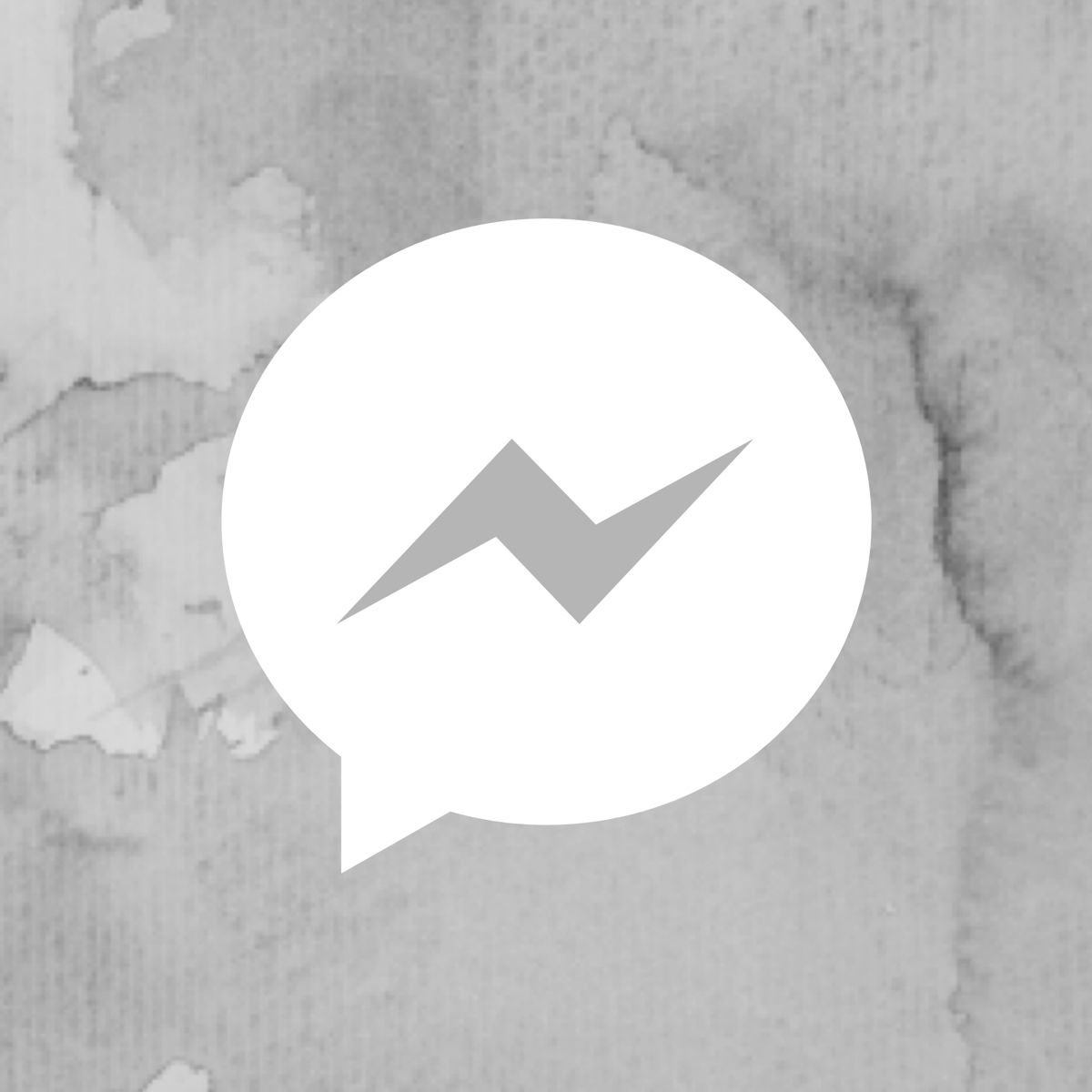 Grey Marble Messenger Ios App Icon Design Iphone App Design Iphone Icon