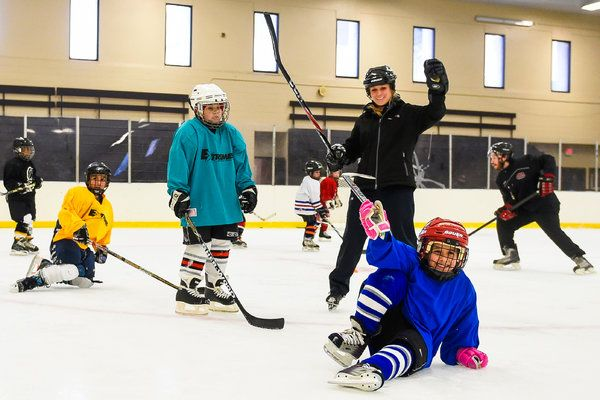 In Newark A Youth Hockey Explosion On The Ice Nytimes Com Youth Hockey Hockey Youth