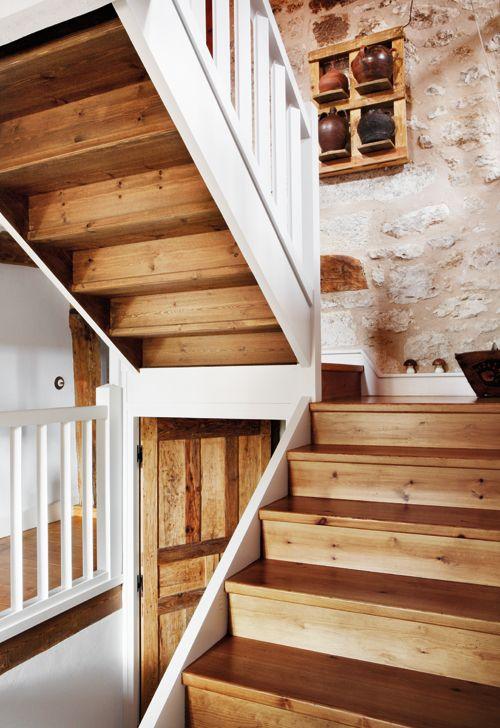 Escalera casa rustica buscar con google querida pinterest escalera escalera casa y rusticas - Escaleras rusticas ...