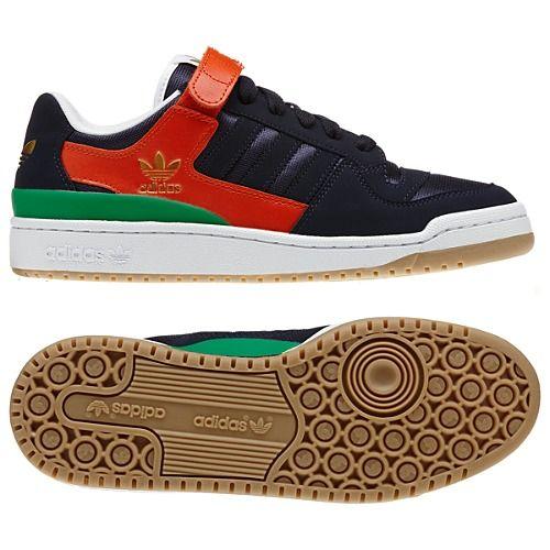 adidas top ten basso (runninwhite / collegio royal / college di rosso