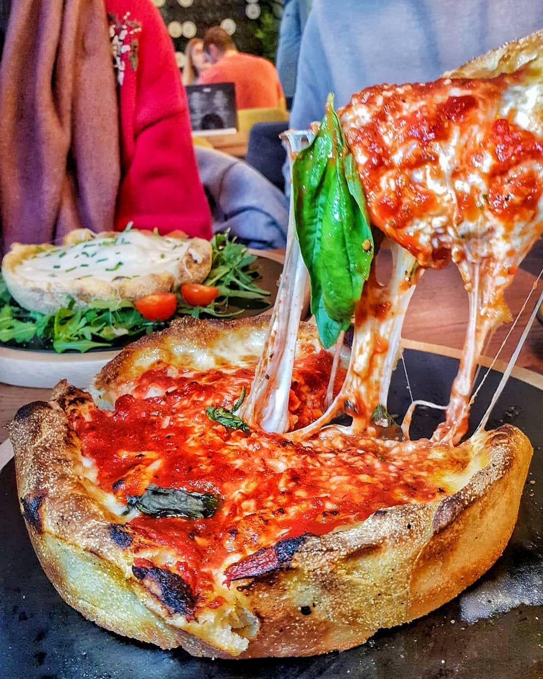 Londonfoodfatty On Instagram Deep Dish Deliciousness
