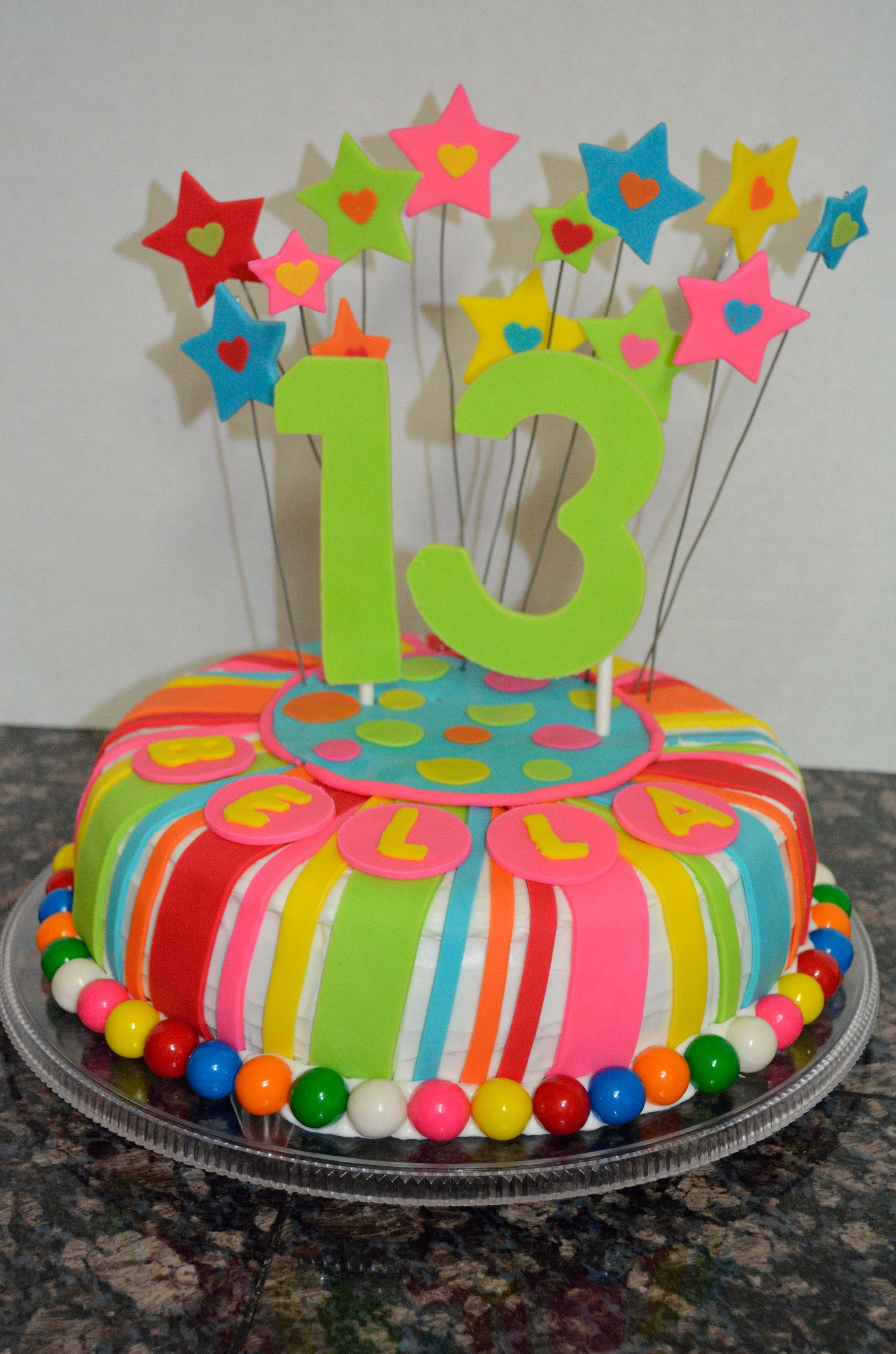 13th birthday cake made for my granddaughters birthday