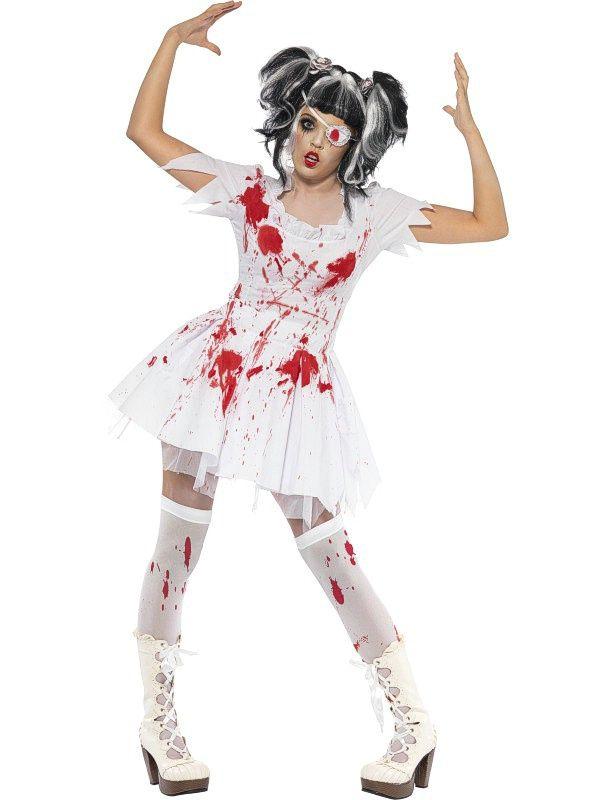 White dress halloween ideas