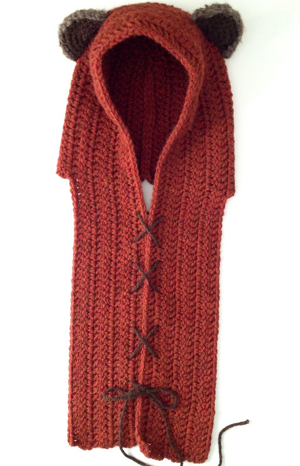 Yub Nub (Ewok) Scoodie By Kristen Stevenson - Free Crochet Pattern ...