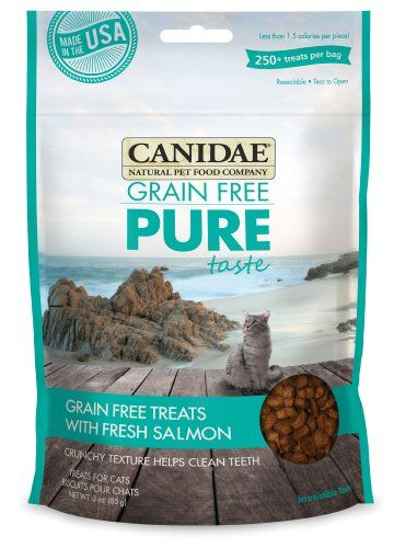 Canidae Grain Free Pure Taste Treats For Cats With Fresh Salmon 3