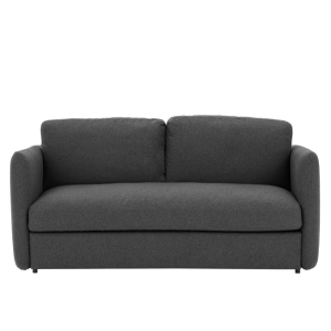 Fletcher 3 Seater Sofa Bed with Memory Foam Mattress Marl Grey from