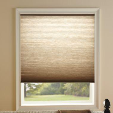Kirsch Honeycomb Toffee Light Filtering Window Shades ...