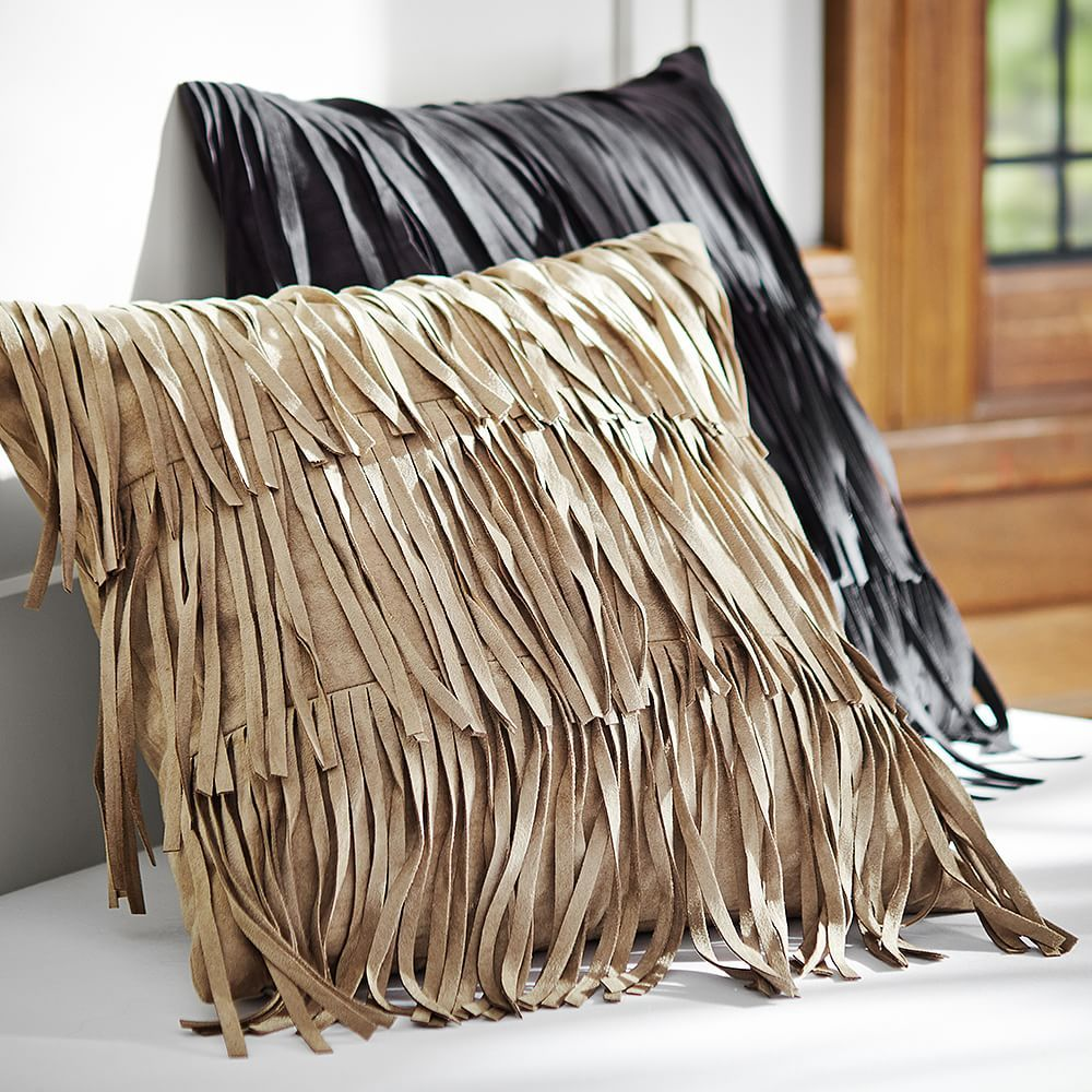 Fab Fringe Pillow Cover | PBteen