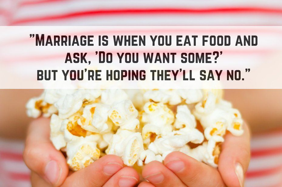 11 One Liners That Accurately Sum Up The Whole Marriage Thing One Liner Marriage Marriage Humor