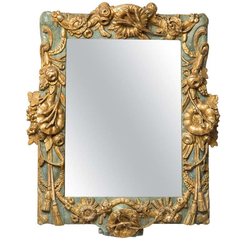 18th Century Baroque Mirror / Frame | Marcos y Espejo