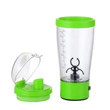 Lagute eléctrica ciclón proteína jugo en polvo Blender Mixer copa 450 ml 15 oz botella de los deportes verde(China (Mainland))