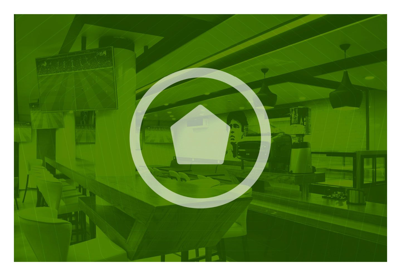 Football House Logo and Visual Identity Home logo