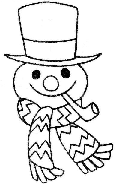 Frosty The Snowman Coloring Page Christmas Coloring Pages