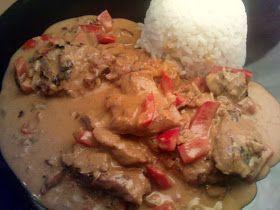 vegan African Chicken - vegane Rezepte auf Laubfresser