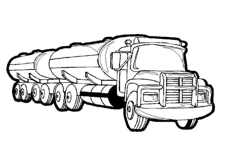 Gas Truck Preschool Coloring Pages Trucks Monster Truck Coloring Pages Truck Coloring Pages Printable Christmas Coloring Pages